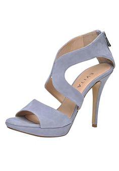 Femme Evita Sandales à talons hauts bleu clair: 162,00 € chez Zalando