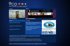 Look at our new webdesign www.9co.no