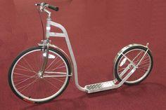 USA Amish Made 26/20  Aluminum Kick Scooter | Kick Bike | LA MX Scooter
