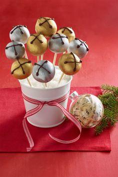 Jingle Bells Peanut Butter Pops