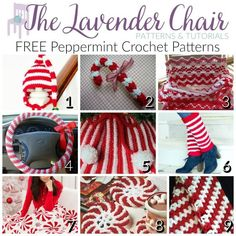 FREE Peppermint Crochet Patterns - The Lavender Chair