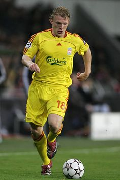 Dirk Kuyt of Liverpool in Fc Liverpool, You'll Never Walk Alone, Walking Alone, Hot, Torrid