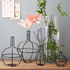 Metal Flower Arrangers | west elm