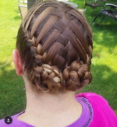 "1,043 Likes, 24 Comments - Little Girl Hairstyles (@braidsforlittlegirls) on Instagram: ""Gorgeous heart starburst! ❤️ Credit: @studiohilde ❤️"""