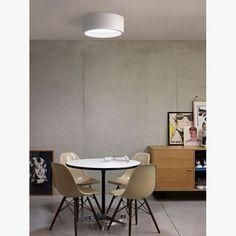 Fluorescent plexiglass ceiling lamp KODO 226 By Delta Light Delta Light, Interior Lighting, Lighting Design, Wall Design, House Design, Ceiling Lamp, Light Decorations, Light Fixtures, Architecture Design