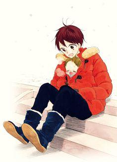 This anime melts my heart. So sweet // gakuen babysitters Manga Boy, Manga Anime, Anime Art, Gakuen Handsome, Anime Bebe, Tokyo Ghoul, Aladdin Magi, Anime Siblings, Blue Springs Ride