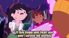 Bravest Warriors animated artists on tumblr illustration heart