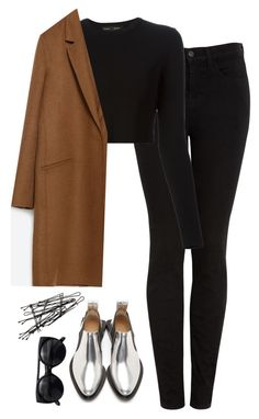"""Untitled #242"" by lindsjayne ❤ liked on Polyvore featuring J Brand, Proenza Schouler, Zara, Paco Rabanne and H&M"