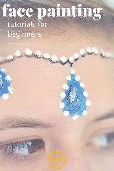 Face Painting Tutorials for beginners. Easy basic ideas to start with. Great for kids this Halloween. #Facepaint #Halloweencostume #Tutorials #Beginners #Kids Face Painting Tutorials, Halloween Fun, Simple Designs, Core, Diy Crafts, Crafty, Easy, Kids, Simple Drawings