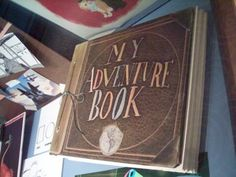 adventure book from Disney Pixar Up! This is super cool!