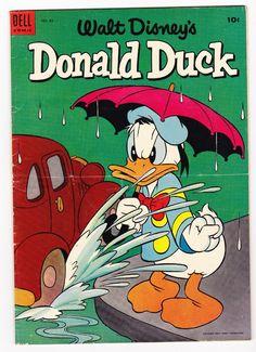 Donald Duck 33 VG Uncle Scrooge Super Bright 1954 Carl Barks | eBay