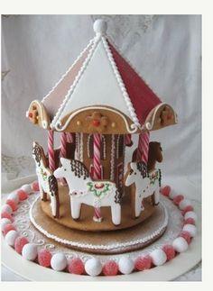 Dala Horse gingerbread