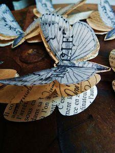 Love the layered  butterflies
