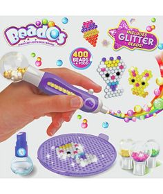 Buy Beados Glitter Starter Pack at Argos.co.uk - Your Online Shop for Arts, crafts and creative toys, 2 for 15 pounds on Toys.