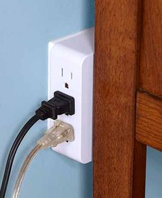 Side Access Plug Outlet