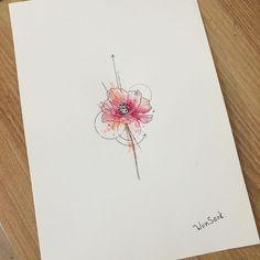 https://flic.kr/p/BG9k1D | 주문받은 양귀비 컬러 완료!! 오늘 오후에 작업 예약 있으니~ 주말 전에 작업 사진 올릴께여~~^^ 잠결에 그려서 그런가ㅠ 먼가 아쉽네..... #illust #tattoo #design #wonseok #tattooist #flower #양귀비 #drawing #꽃타투 #korea #watercolor #illustration #꽃 #서울 #라인타투 #타투도안 #도안 #미니타투 #대학로 #타투이스트원석 #혜화타투 #일러스트 #여자타투