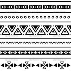 Aztec seamless pattern, tribal black and white   #GraphicRiver         Vector seamless aztec ornament, ethnic pattern  FEATURES:   100% Vector Shapes  All groups have names  All elements are easy to modify – you can change coulours, size  Pack include version AI, EPS, JPG      Created: 14May13 GraphicsFilesIncluded: JPGImage #VectorEPS #AIIllustrator Layered: Yes MinimumAdobeCSVersion: CS Tags: abstract #aztec #background #black #design #ethnic #fabric #geometric #mexican #mexico #ornament #pattern #repetitive #seamless #southamerica #texture #traditional #tribal #white