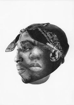Tupac Biggie Would be a sick painting in my house! New Hip Hop Beats Uploaded EVERY SINGLE DAY http://www.kidDyno.com