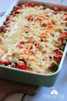 Good Food, Yummy Food, Cooking Recipes, Healthy Recipes, Food Crafts, One Pot Meals, Italian Recipes, Macaroni And Cheese, Chicken Recipes