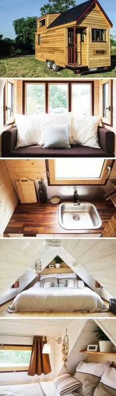 The Baluchon, a beautiful French tiny house
