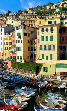 Camogli, Liguria, Italy   Flickr - Photo by Mohamed Haykal