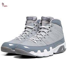 newest 06414 df664 AIR Jordan 9 Retro  Cool Grey 2012 Release  - 302370-015 - Size 10.5 -   Amazon.fr  Chaussures et Sacs
