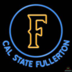 Cal State Fullerton Titans Neon Sign NCAA Teams Neon Light