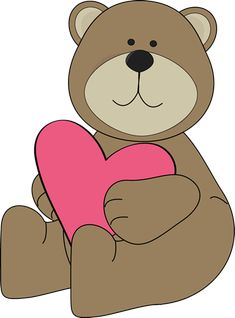 Valentine's Day bear.