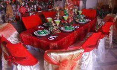 Dining Table Setting @ Tropical Prelude Event Creation location - Trinidad