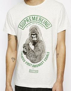 Image 3 ofSupremebeing T-Shirt With Alpha Gym