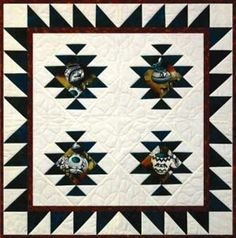 Four Corners quilt pattern