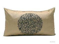 ezebee.com - Pillow. Luxury silk. European design. Small lumbar size