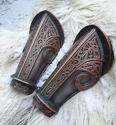 Dwarven bracers, LARP and Cosplay armor, Fantasy armour, Dwarf cosplay armlets, Warrior prop armlets Dwarven Armor, Viking Armor, Us Armor, Larp Armor, Cosplay Armor, Knight Armor, Body Armor, Cosplay Costumes, Pirate Costumes