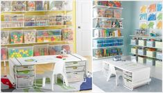 HOME STORAGE & ORGANIZATION: KID'S PLAYROOM: Store in Transparent or Translucent Boxes for Easy Visibility