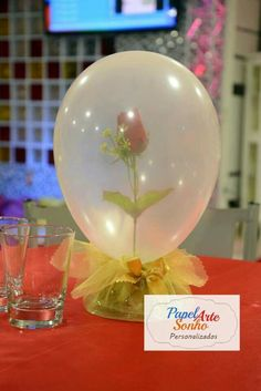 A Look At Painless Plans Of Pretty Quinceanera Party Decorations - Lelo Lelo Beauty And Beast Birthday, Beauty And The Beast Theme, Beauty And Beast Wedding, Disney Beauty And The Beast, Quince Decorations, Quinceanera Decorations, Quinceanera Party, Balloon Decorations, Snow White Birthday