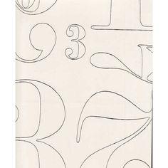2+3 wallpaper, white-black, by Pihlgren & Ritola.