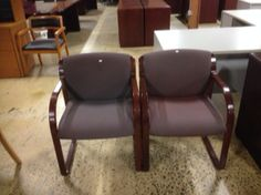 Used Chairs, Dining Chairs, Wine, Frame, Fabric, Furniture, Home Decor, Picture Frame, Tejido