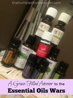 A Grace-Filled Answer to the #EssentialOils Wars - TheHumbledHomemaker.com