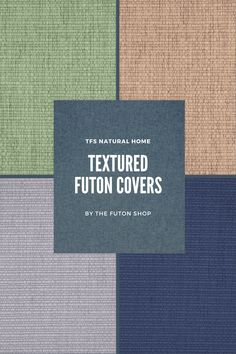 Futon Slipcover, Slipcovers, Futon Covers, Chenille, Lettering, Cases, Furniture Covers, Quilt Cover