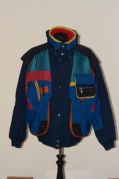 Men's #vinatge evf #snowboard ski jacket coat skiing snow party #classic 80s 90s,  View more on the LINK: 	http://www.zeppy.io/product/gb/2/222206687297/