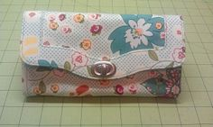 Necessary Clutch Wallet   sewing pattern from emmalinebags.com
