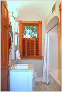 Small Bathroom Remodel for less than $2000. See design blog for great ideas on brapples.com.