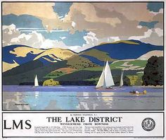 The Lake District LMS Poster