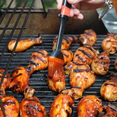 2020 Update: With the stay-home policy set in place, I am cooking a lot from scratch. Barbecue Sauce, Bbq Grill, Grilling, Charcoal Bbq, Tandoori Chicken, Homemade Bbq, Tasty, Chicken Legs, Healthy Recipes