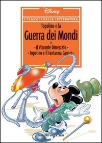 "Why is Mickey Mouse on the Italian cover of ""War of the Worlds""?"