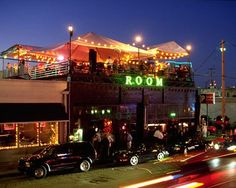 Partied on the roof tops, Deep Ellum- Dallas, TX.