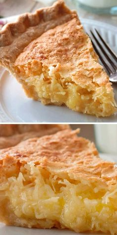 Coconut Recipes, Baking Recipes, Cake Recipes, Dessert Recipes, Coconut Pie Recipe Easy, Healthy Pie Recipes, Easy Desserts, Delicious Desserts, Yummy Food