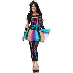 Funky Punk Bones Adult Halloween Costume