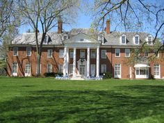 Hillwood Estate, Washington, DC. The estate is the former home and garden of Marjorie Merriweather Post