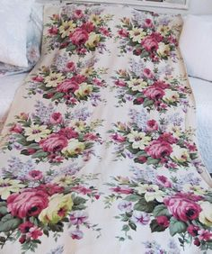 A connoisseur of form, color, and texture. This is especially common with Ralph Lauren red dye lots and is often seen in the Jardiniere pattern from the Diplomat Collection. Drapery Panels, Rose Cottage, Floral Bouquets, Red Roses, Strawberry, Shabby, Deep, Blanket